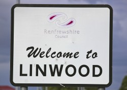 Welcome to linwood sign